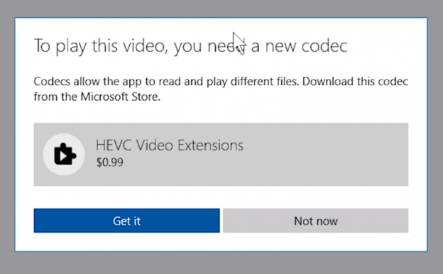 Download Windows 10 Hevc H 265 Video Codec For Free Tech On Tour